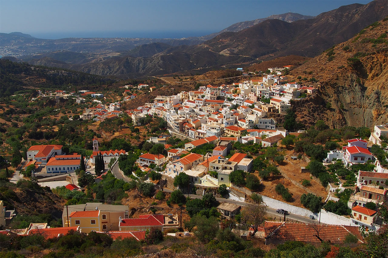 Karpathos villages