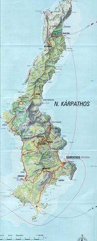 Karpathos térkép letöltés